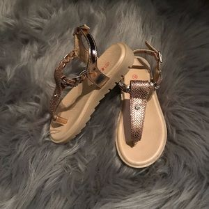 Other - Rose Gold Holy Sandals